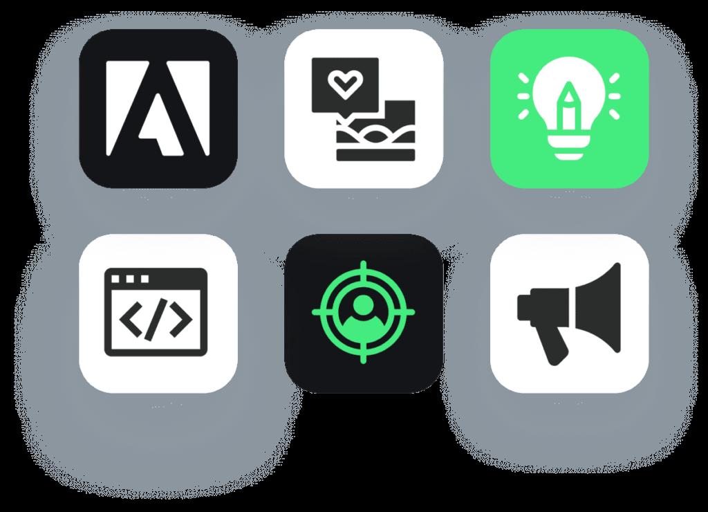 Icons Creamos Estrategias De Marketing Digital Que Obtienen Resultados Palpables Para Tu Negocio.